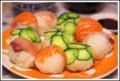 [食べ物][自炊]手まり寿司