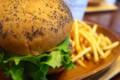 [食べ物]クア・アイナのハンバーガーセット