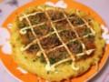 [食べ物][自炊]関西風お好み焼き