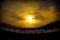 カシマスタジアムと夕陽