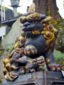 [風景写真]成田山新勝寺の狛犬