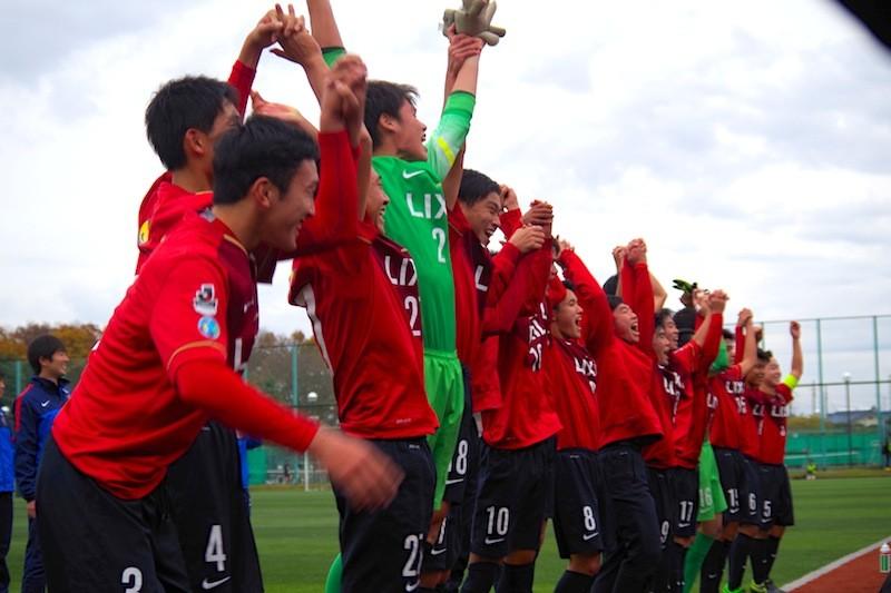 高円宮杯U-18 2015 市立船橋高校戦