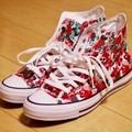 CONVERSE all star flw hi white