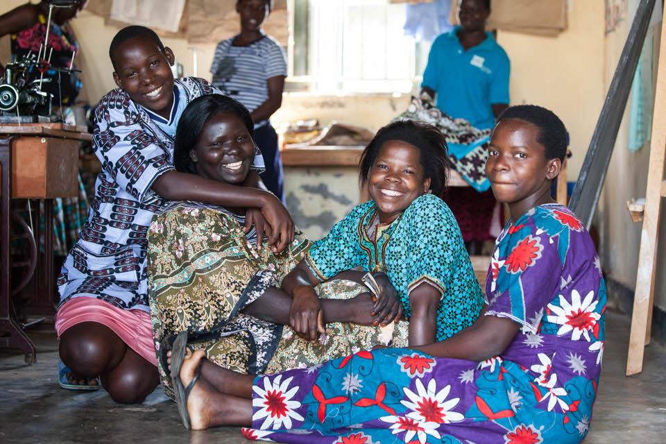 インターンとして計6ヶ月滞在したウガンダで出会った元少女兵ら photo by Yuki Nobuoka