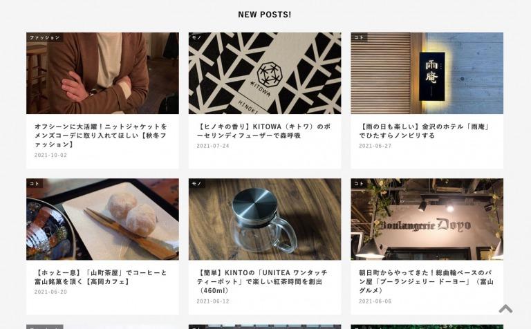ブログ更新頻度