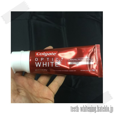 人気のColgate OPTIC WHITE