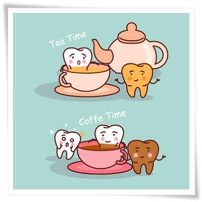 コーヒーと歯