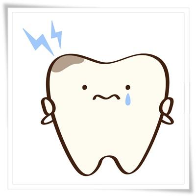 歯の痛みのイラスト