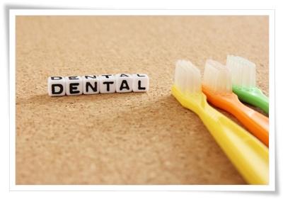 コンパクトな歯ブラシの写真