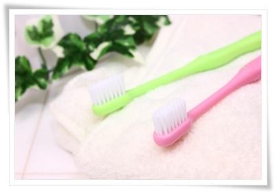 シンプルな歯ブラシの写真