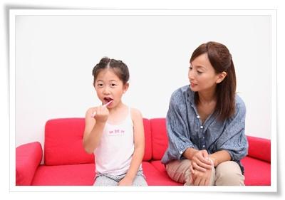 子どもと歯磨き