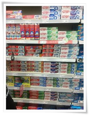 中国で買える歯磨き粉
