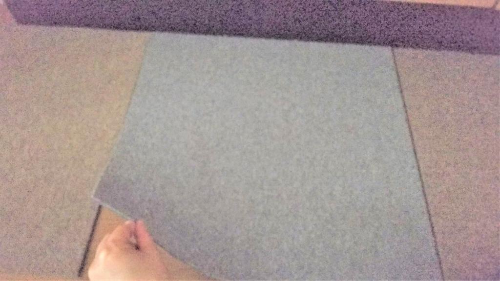 タイルカーペットの画像