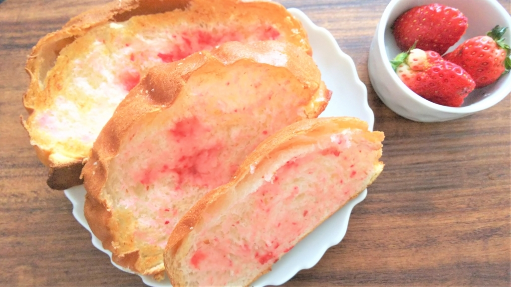 いちごラスク風トーストの画像