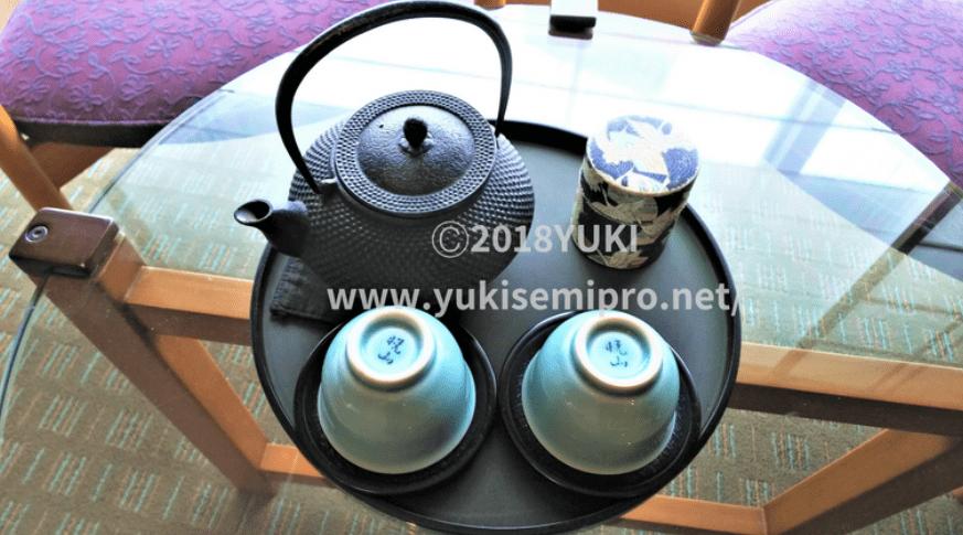 南部鉄器のお茶セットの画像