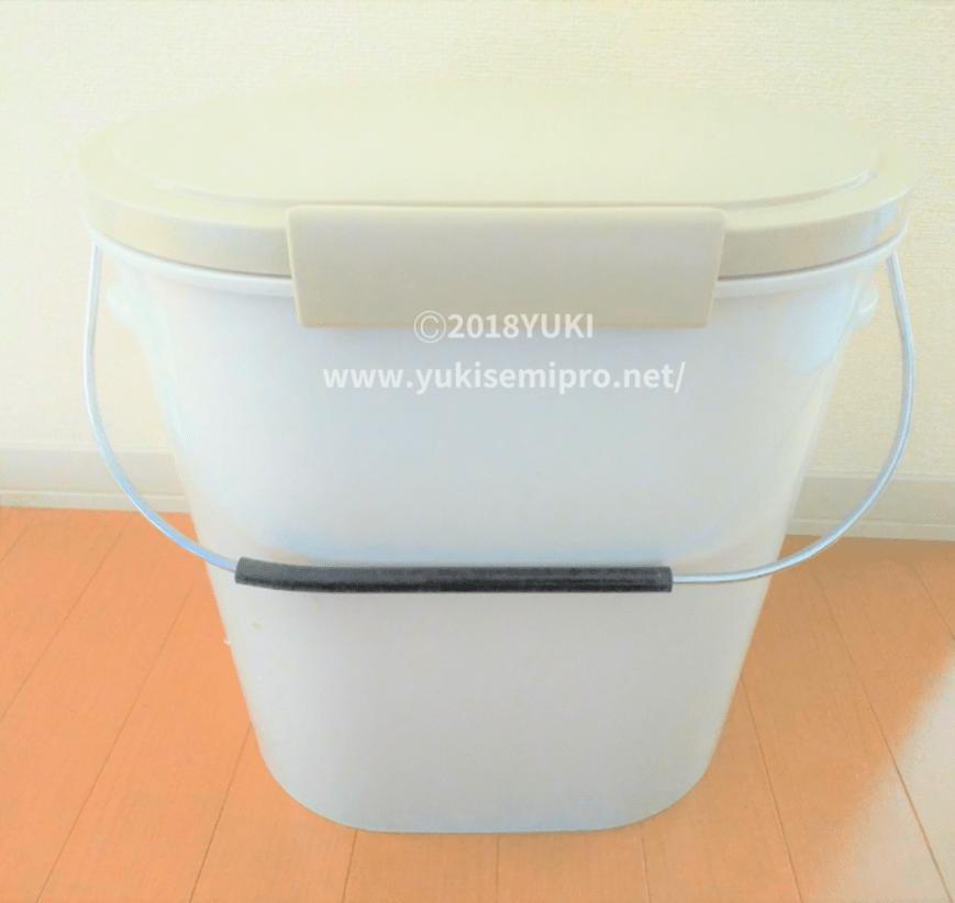 バケツ付き2重ゴミ箱の画像