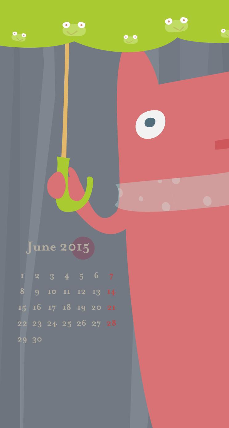 カレンダー付
