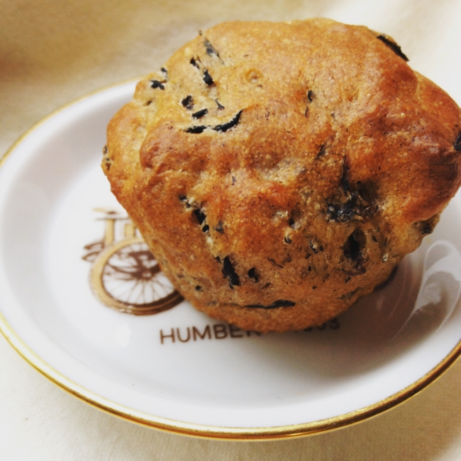 Hijiki Yeast Muffins