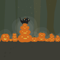 [halloweenwp][2048x2048] halloween 2018 | jack-o'-lantern
