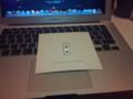 [mac] MacBook Air買った