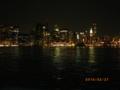 ブルックリン側からマンハッタンを見る