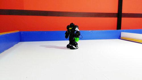 長崎ハウステンボスのアトラクション『ロボットの館』にある操作できるロボットの画像