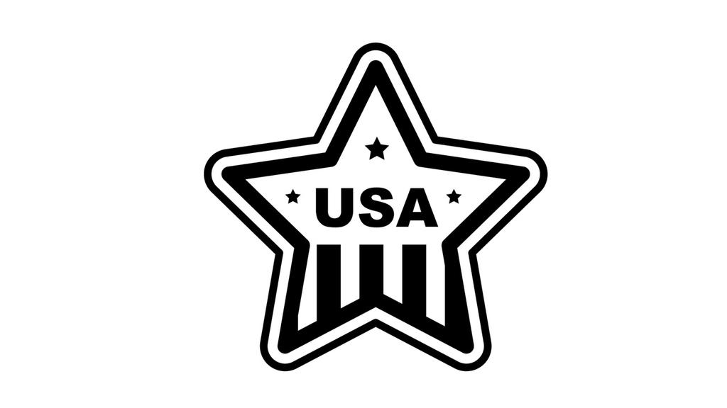 USAの星型ロゴ