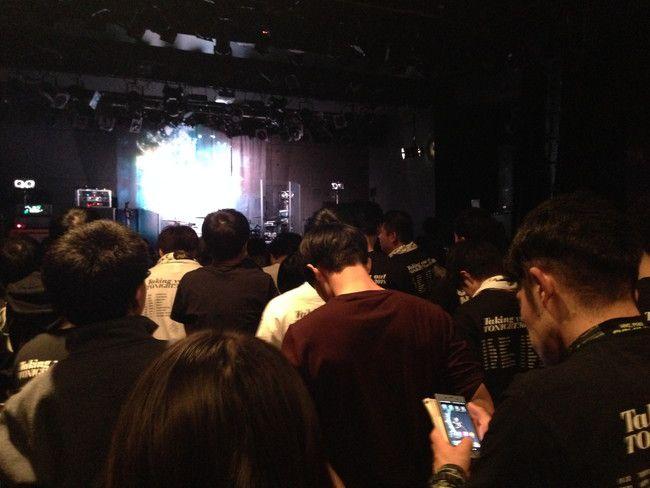 ライブ開始10分前