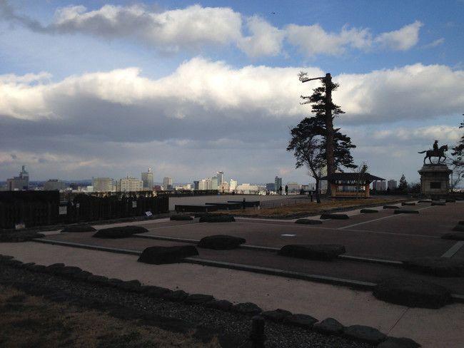 仙台城があった場所