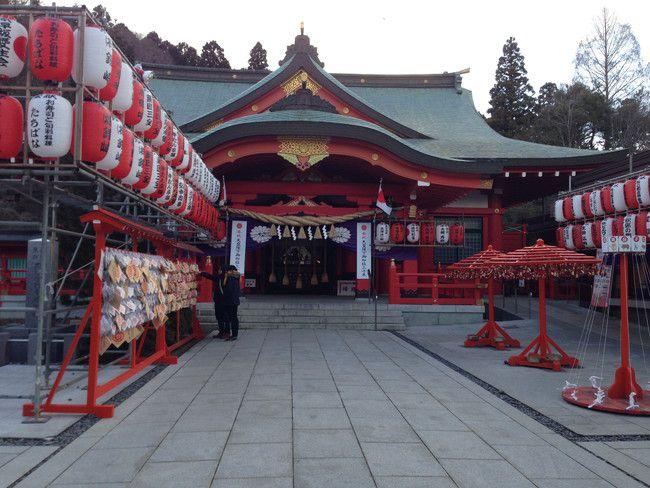真っ赤でキレイな宮城縣護国神社