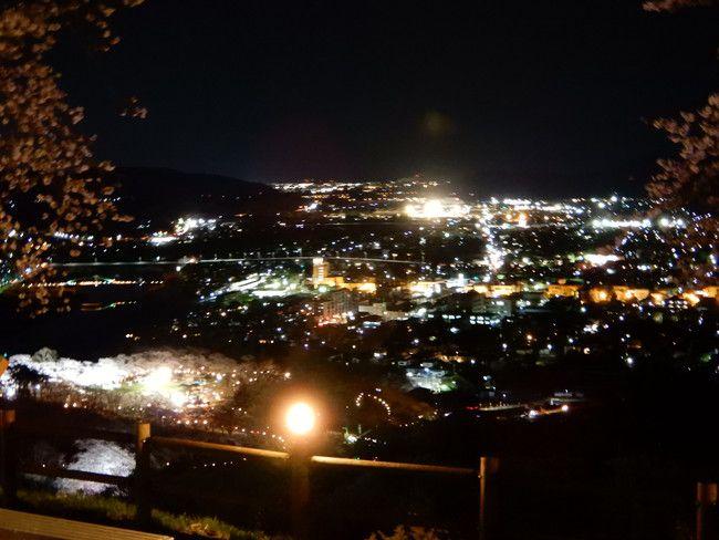柴田町を一望できるポイント