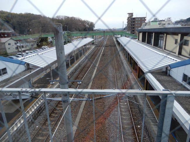 湯本駅風景