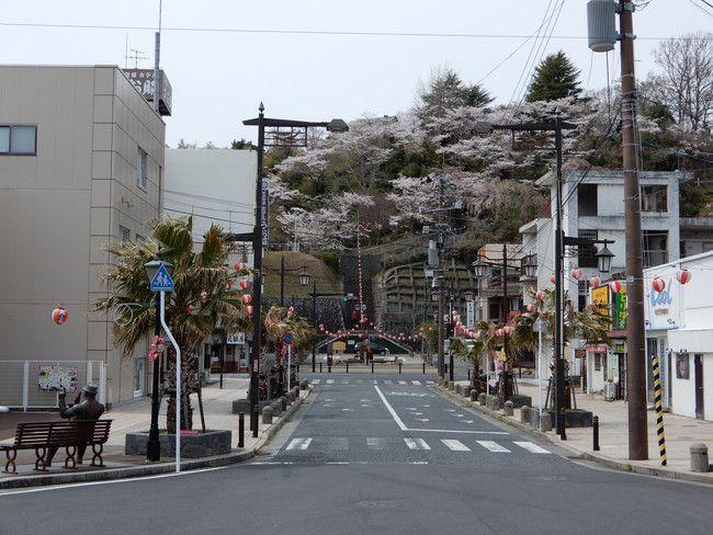 湯本駅のからの景色が結構キレイなんですよ