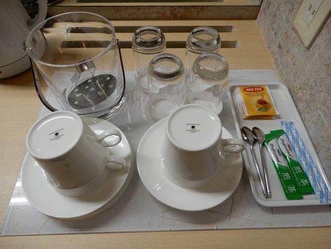 【口コミ&レビュー】ウイルポートには緑茶やTEAが備え付けてある