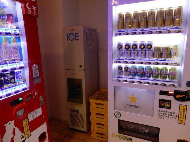 【口コミ&レビュー】ウイルポートのは3Fに氷の自販機がある