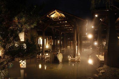 【口コミ&レビュー】世界最大の露天風呂『与一』