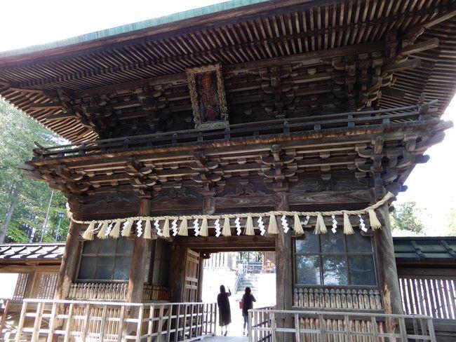仙台東照宮、御朱印、御朱印張をいただいてきたので紹介、随神門