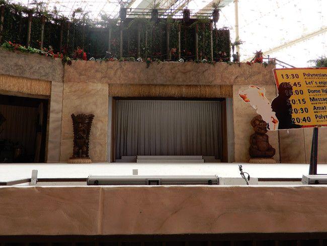 ハワイアンズショーの有料座席の見え方や選び方、実際の写真、プレミアムシートの座席の見え方(真ん中)