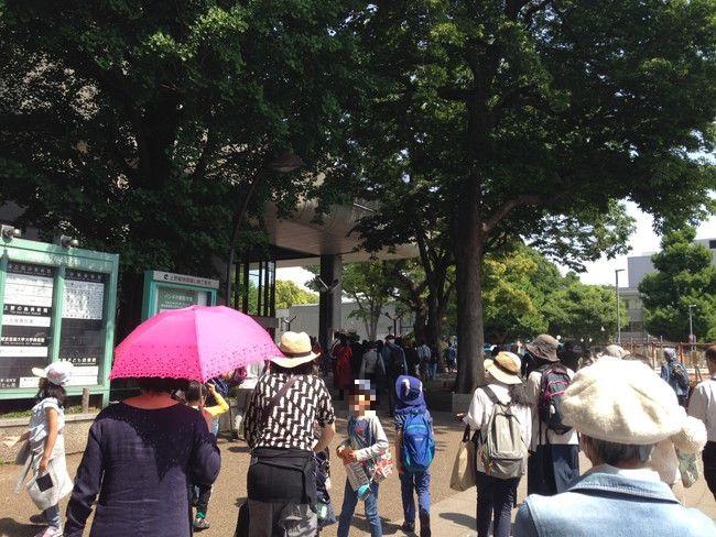 上野動物園のパンダの混雑状況や待ち時間、観覧方法を全て徹底解説、平日金曜日の上野駅の様子
