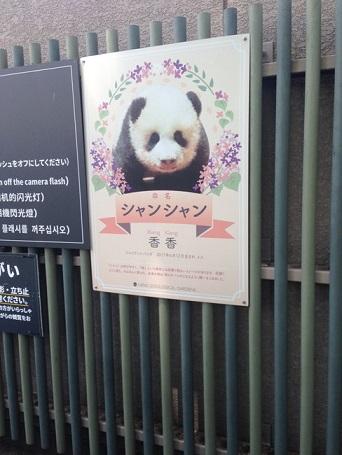 上野動物園のパンダの混雑状況や待ち時間、観覧方法を全て徹底解説、シャンシャンのパネル