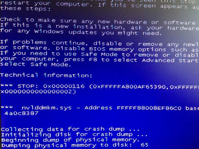 【nvlddmkm.sysが原因】Windowsブルースクリーンエラー、グラフィックボードのNVIDAの不具合