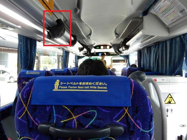 乗車体験記、東北急行バスニュースター号3列シートの車内