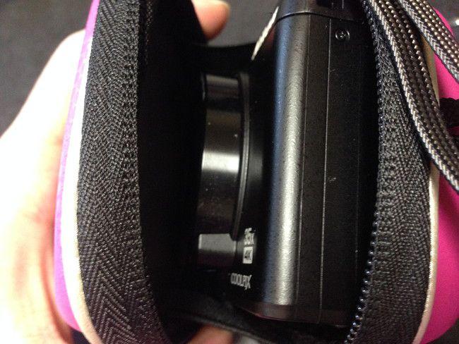【レビュー】SUMAX デジタルカメラケースを実際につかってみた感想、Nikon COOL PIX A900を入れてみます