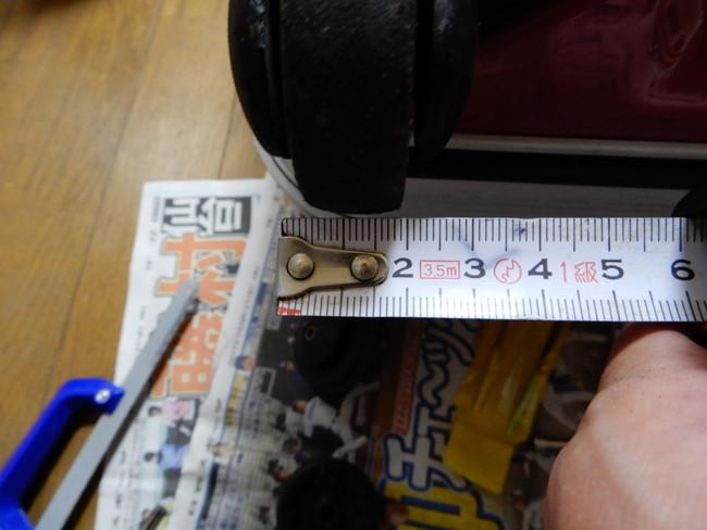 修理前の確認ポイント1、ローラーの厚さ