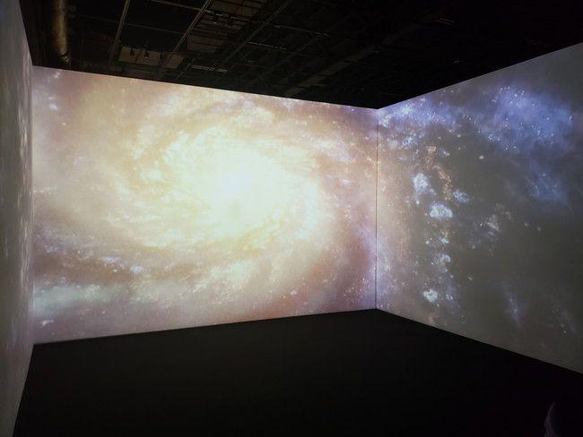 仙台市天文台のお気に入りポイント1.プロジャクター投影で宇宙空間が味わえる場所