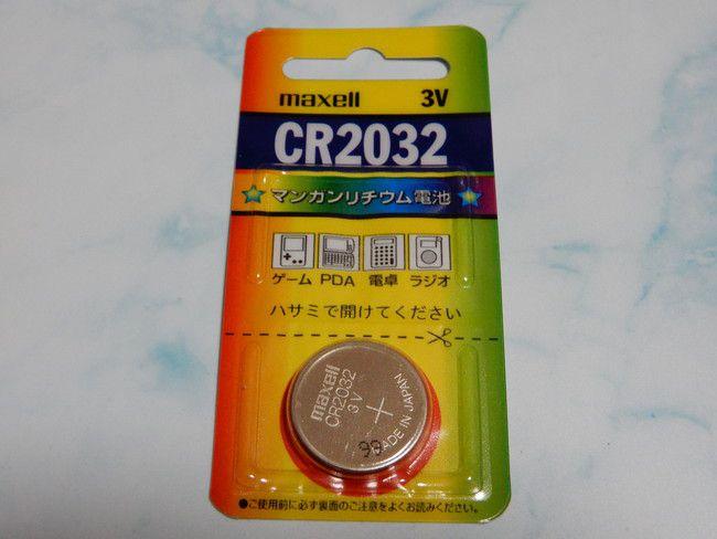 BIOSのボタン電池はCR2032