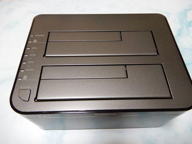 HDDを丸ごとコピーできる機器の使い方