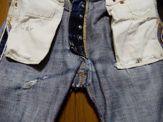 1000回以上穿いたフラッドヘッドデニムの経年変化、14.5ozでも破ける