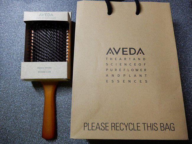 美容師口コミ大人気アヴェダ パドルブラシを使ってみた!