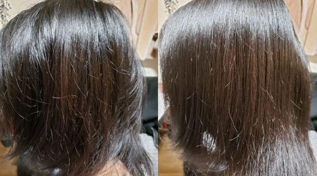 美容師口コミ実際にアヴェダパドルブラシで髪をとかしてみた、比較